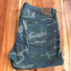Gap Camo Jeans